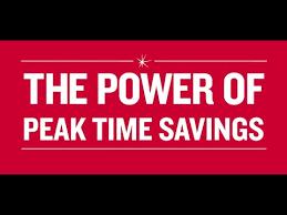 peak time savings